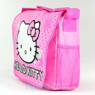 Sanrio Hello Kitty Stars and Polka Dot Large Messenger Bag   Backpack