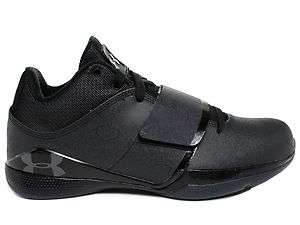 Underarmour Micro G Bloodline Black/Grey Mens Mid Top Basketball Shoes