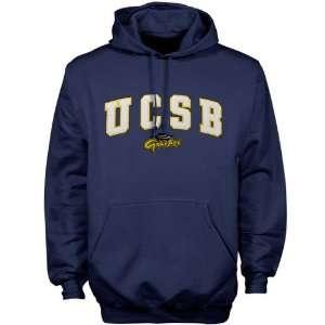UC Santa Barbara Gauchos Navy Blue Player Pro Arch Hoody Sweatshirt