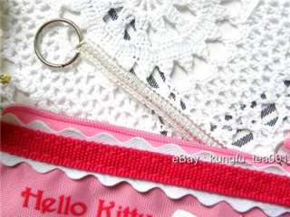 Sanrio Hello Kitty Coil Key Ring Coin Bag Wallet Purse
