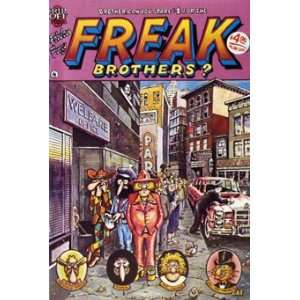 The Fabulous Furry Freak Brothers Comic Book Issue #4
