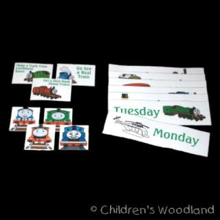THOMAS TANK ENGINE CHORE CHART SET! KIDS CHORES! TRAIN!