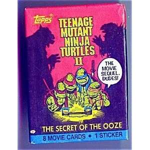 Topps Teenage Mutant Ninja Turtles II   The Secret of The Ooze