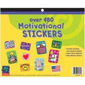 8 Pack EUREKA JUMBO STICKER BOOKS 2992 COUNT MINI