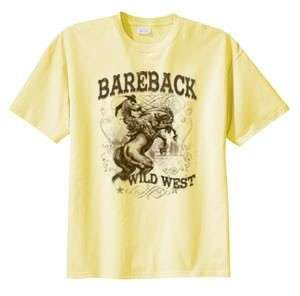 Bareback Bronc Riding Wild West Rodeo T Shirt S 6x