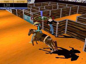 Extreme Rodeo PC CD bull & bareback riding sports game