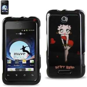 ZTE SCORE (X500) Betty Boop Design Hard Shell Snap On
