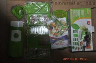 2012 New  Nicer Dicer plus 10 piece Multi Chopper As Seen On TV