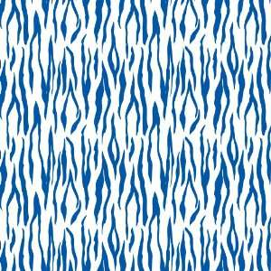 TIGER STRIPE WHITE & ROYAL PATTERN Vinyl Decal Sheets 12