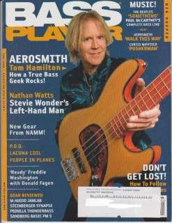 Bass Player Magazine (April 2006) Aerosmith Tom Hamilton / Nathan