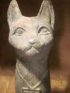 Egyptian cat statue   Bast / Bastet   Protective goddess of music