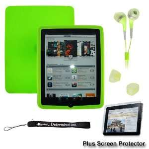 Premium Green Thick Soft Gel Silicone Skin for Apple iPad