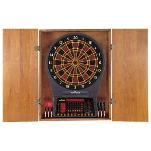 DMI Electronic Dart Board Cabinet   Pine Sports & Outdoors