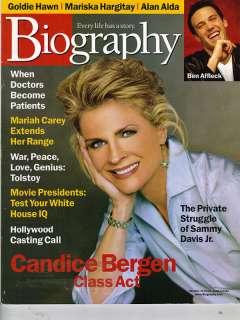 CANDICE BERGEN Biography 2/00 MARISKA HARGITAY MARIAH