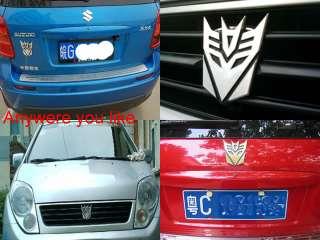 3D Decal Transformers Decepticon Emblem Car Sticker