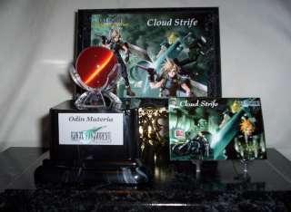Final Fantasy VII 7 Cloud Strife / Odin Materia Set