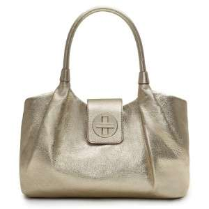 KATE SPADE Bexley Stevie hand bag NWT $395 White Gold Leather satchel