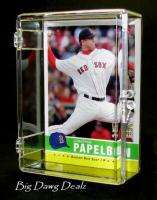 25 Count Trading Card Plastic Storage HINGED Box (1)