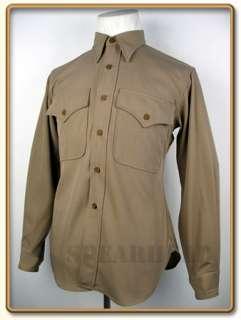 WW2 US Marine Corps Officer Gabardine Service Shirt XXL