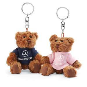 Mercedes Benz Teddy Bear Key Chain BOY or GIRL