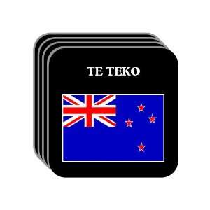 New Zealand   TE TEKO Set of 4 Mini Mousepad Coasters