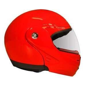 Medium DOT Red Flip Up Modular JIX Motorcycle helmet Automotive