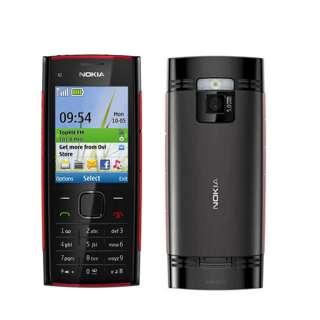 UNLOCKED NEW NOKIA X2 00 BLACK GSM QUADBAND BAR CELL PHONE AT&T T
