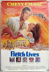 FLETCH LIVES DS ROLLED ORIG 1SH CHEVY CHASE, R. LEE ERMEY, CLEAVON