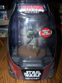 Star wars Micro Machines Die Cast Boba Fett Figure
