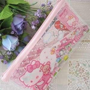Kids Hello Kitty Pencil Bag Ruler Eraser Stickers