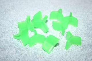 PACK OF TEN HOOK BONNETS FOR SIZE 2, 4, 6 TREBLE HOOKS