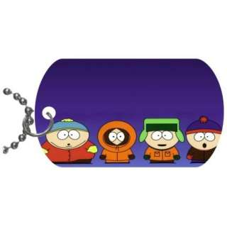 New South Park Pet Dog Tag Key Charm w/Chain