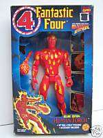 Human Torch Fantastic Four 10 Toy Biz figure