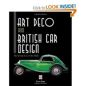Art Deco and British Car Design The Airline Cars of the