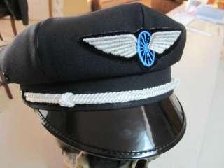 SCHOOL HARLEY STYLE ROAD CAPTAINS HATS   BRANDO BIKER SYTLE