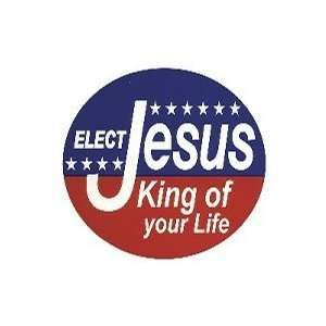 Euro Sticker Elect Jesus King Of Your Life Pack of 6