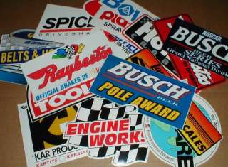 Contingency lot tool box Race Car Racing Decal Stickers New 19 dif