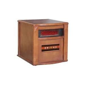 American Comfort Infrared Quartz Heater   5200 BTU, 1500 Watts, Walnut