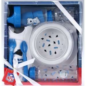 Carolina Panthers NFL Football Newborn Baby Necessities Gift Set Baby