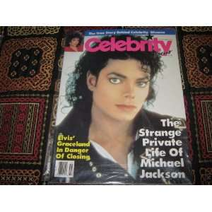 Celebrity Focus Magazine (Michael Jackson : The Strange