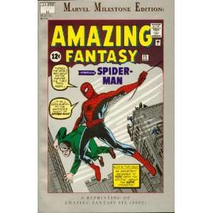 Marvel Milestone Edition   Amazing Fantasy Spider Man #14