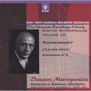 Des Morts Op 29 / Symphony 2 Op 27: Rachmaninoff, Mitropoulos: Music