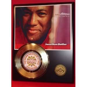 Jonathan Butler 24kt Gold Record LTD Edition Display ***FREE PRIORITY