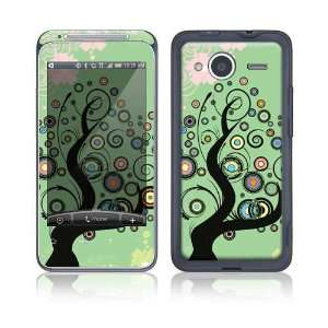Girly Tree Decorative Skin Cover Decal Sticker for HTC Evo