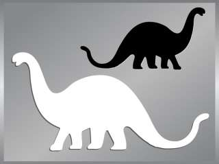 BRONTOSAURUS #2 Dinosaur cut vinyl decal up to 8 car