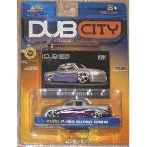 Jada Dub City 1:64 FORD F 150 SUPER CREW: Toys & Games