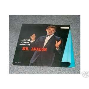 and now about mr. avalon LP FRANKIE AVALON Music