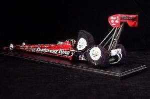 BRANDON BERNSTEIN Budweiser King Dragster SIGNED 124