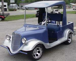 GOLF CART 1934 STREET ROD BODY KIT FRONT ONLY