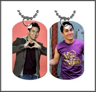 Carlos Pena Big Time Rush BTR Dog Tag Necklace 2 Sided